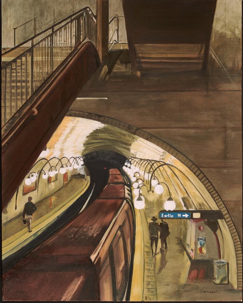 Ile de Cite Metro Station Paris