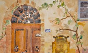 Mailbox at Spannocchia